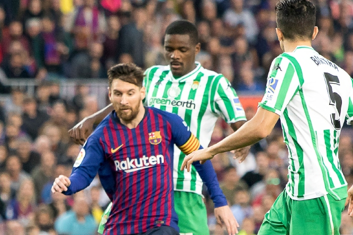 Messi battles with Bilbao in one of Barcelona's many victories against them