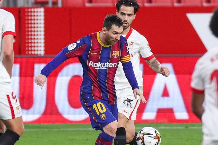 Messi versus Sevilla