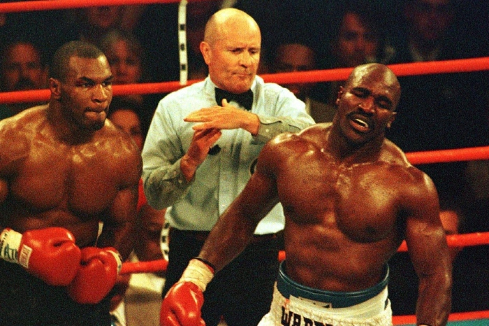 Mike Tyson confirms date for trilogy bout with Evander Holyfield