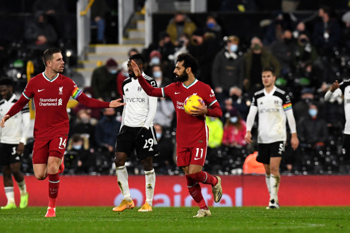 Mo Salah will look to get back to form against Fulham