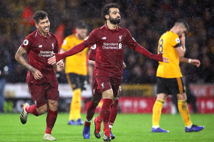Mo Salah looking to improve his record against Wolves