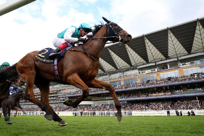 Frankie Dettori wins Wolferton Stakes at Royal Ascot