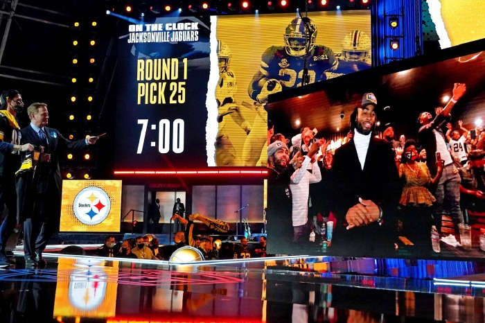 The NFL draft is a big occasion in America
