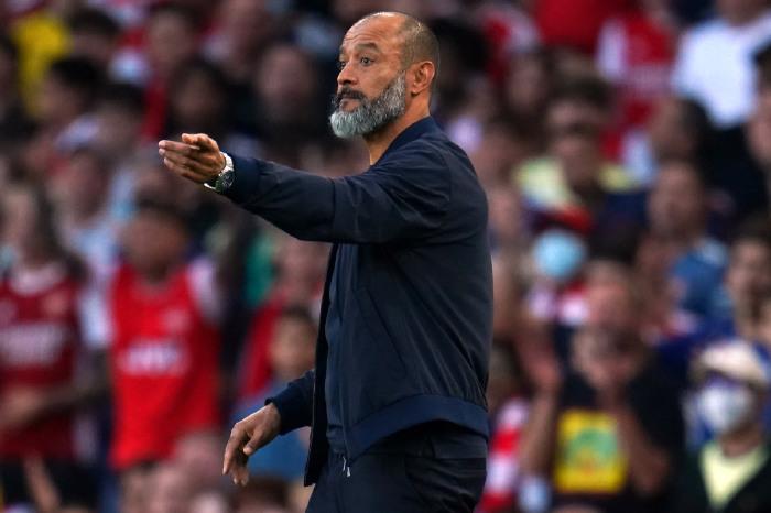Tottenham manager Nuno Espirito Santo is already under pressure at White Hart Lane