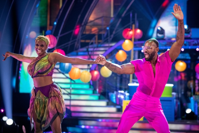Ugo Monye is in trouble after the opening week of Strictly