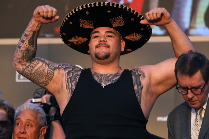Andy Ruiz Jr. makes his comeback this weekend and wants Deontay Wilder next