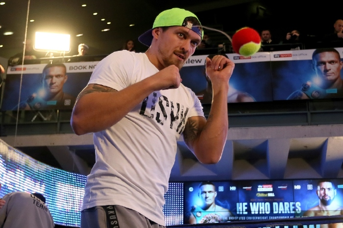 Peter Fury has warned Anthony Joshua that Oleksandr Usyk is a