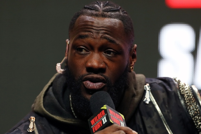 Deontay Wilder has sent out a warning message to Tyson Fury ahead of their trilogy fight
