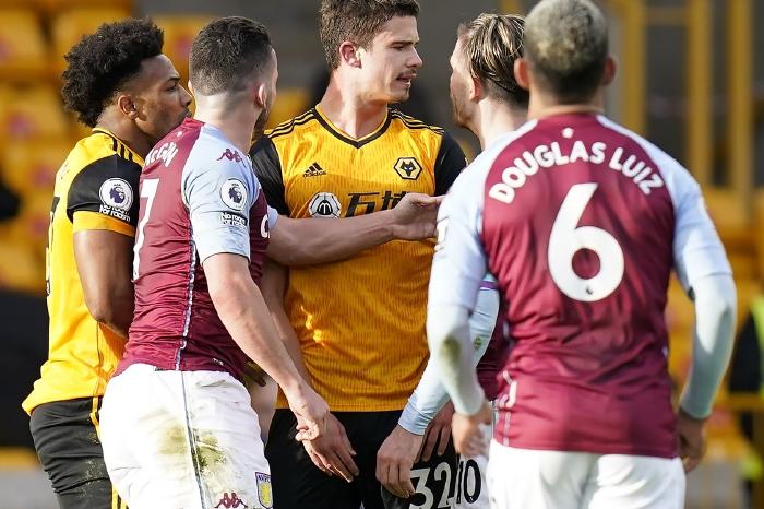 Aston Villa versus Wolves, 2021