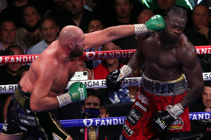 Planet Sport Bet punters cash in on Fury vs Wilder 3 despite American losing