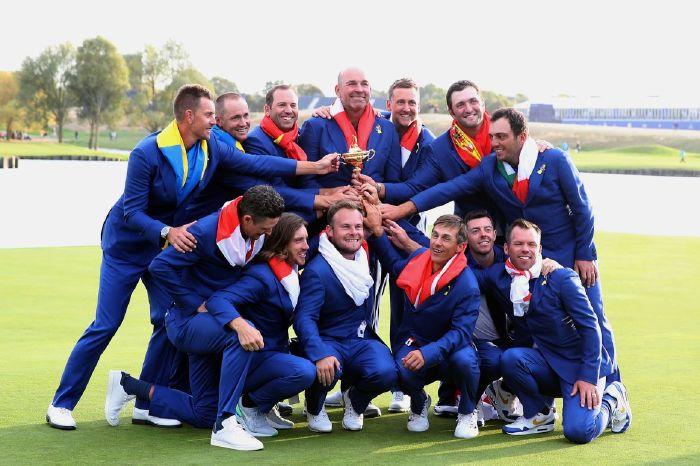 Ryder Cup 2018 Europe winners
