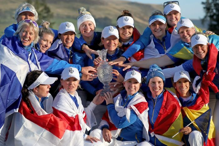 Europe at the Solheim Cup.