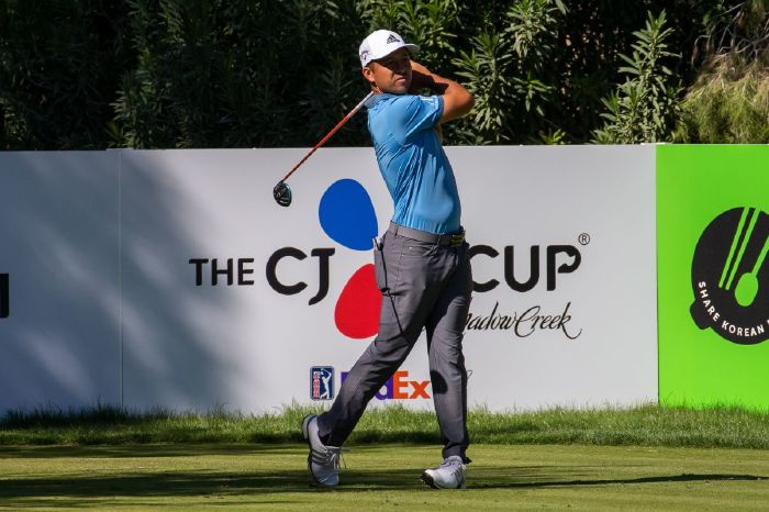Xander Schauffele came second at the 2020 CJ Cup.