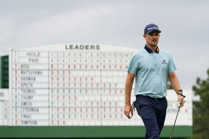 Justin Rose at the Masters