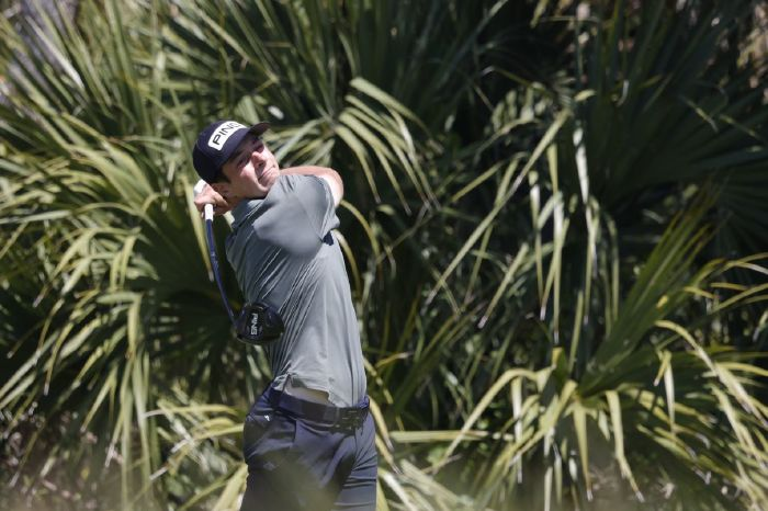 Viktor Hovland at the PGA Championship