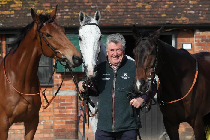 Paul Nicholls' Scaramanga is a leading contender at Newbury on Friday