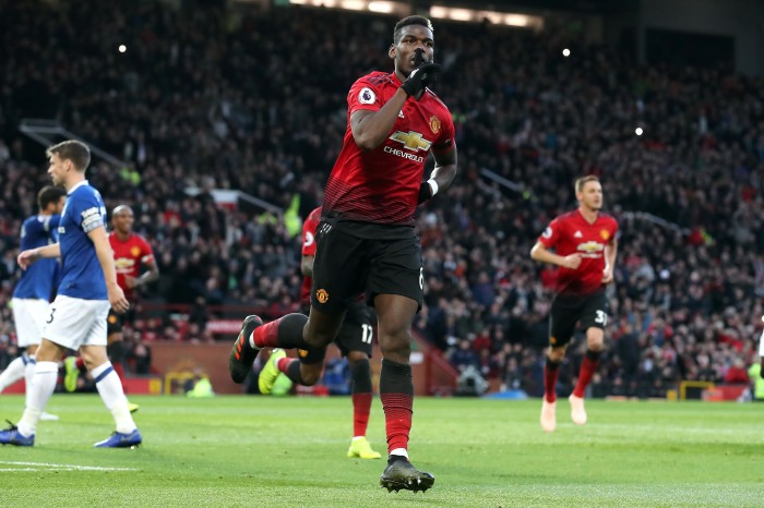Pogba will hope to be back in United's starting lineup this weekend