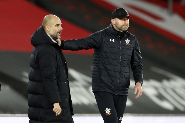 Saints have a tough task on their hands to get anything off Manchester City on Wednesday night