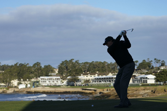 Mickelson loves the drama of the 18th tee shot at Pebble Beach.