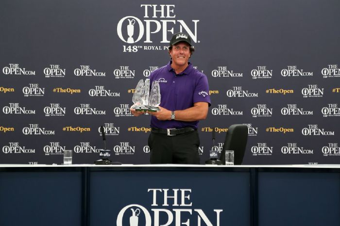 Phil Mickelson: Managed to work out links golf