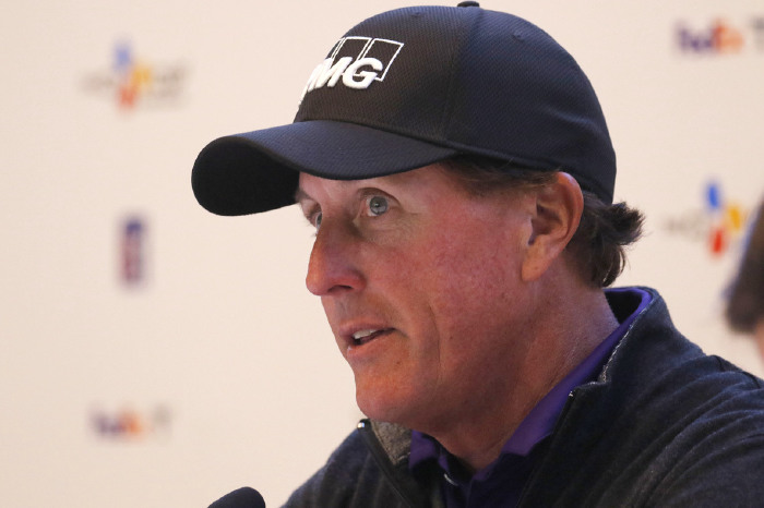 Mickelson always like a good blather.
