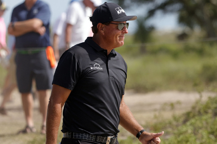 Mickelson's win places him alongside Faldo and Trevino in the record books.