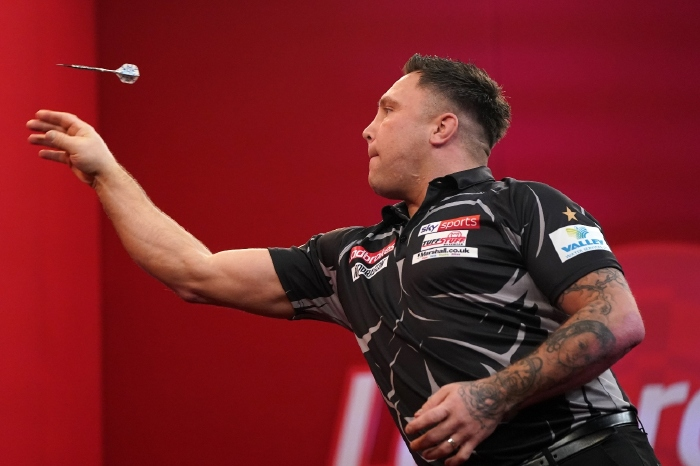 Gerwyn Price is looking to defend his World Grand Prix title