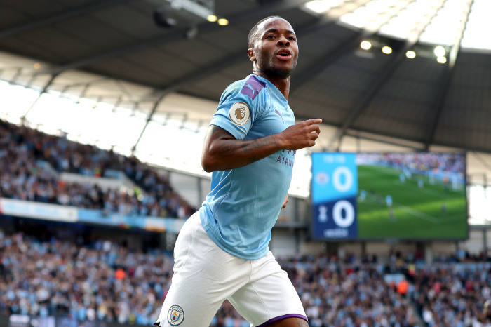 Raheem Sterling will hope to add to his goal in midweek