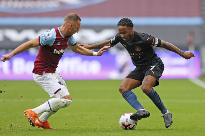 The England international has a fantastic record against the Hammers