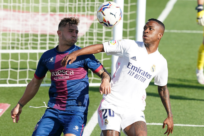 Real Madrid have a 100% record against Huesca in La Liga