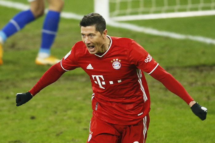 Lewandowski is set to come up against his old side again