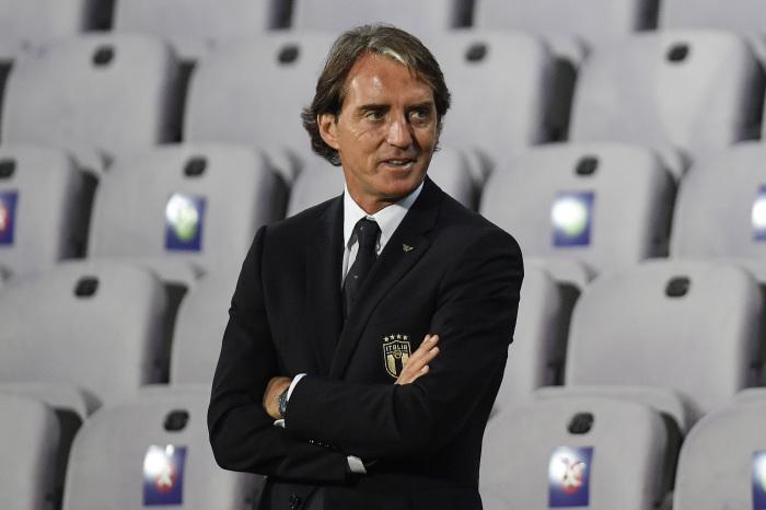 Italy's Roberto Mancini