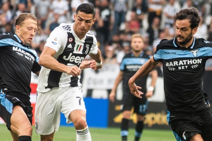 Ronaldo against Lazio, 2021