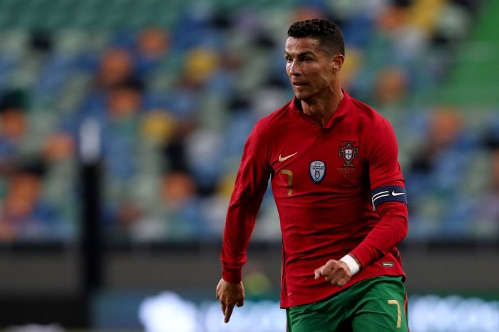Cristiano Ronaldo has scored nine goals at the Euros.