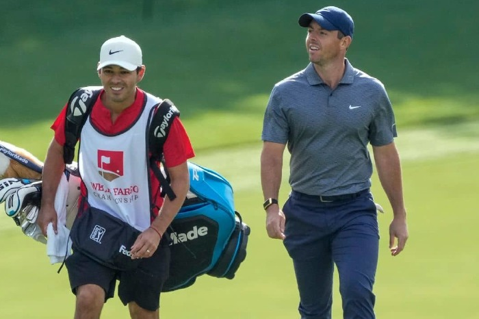 Rory McIlroy is on the march