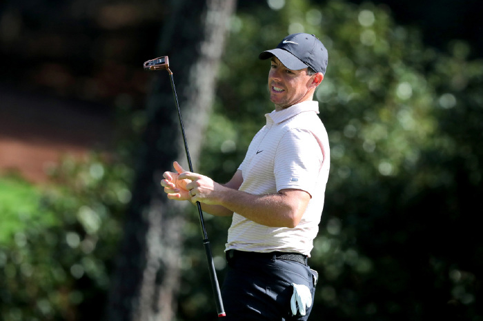 McIlroy is struggling with form ahead of the year's first Major.