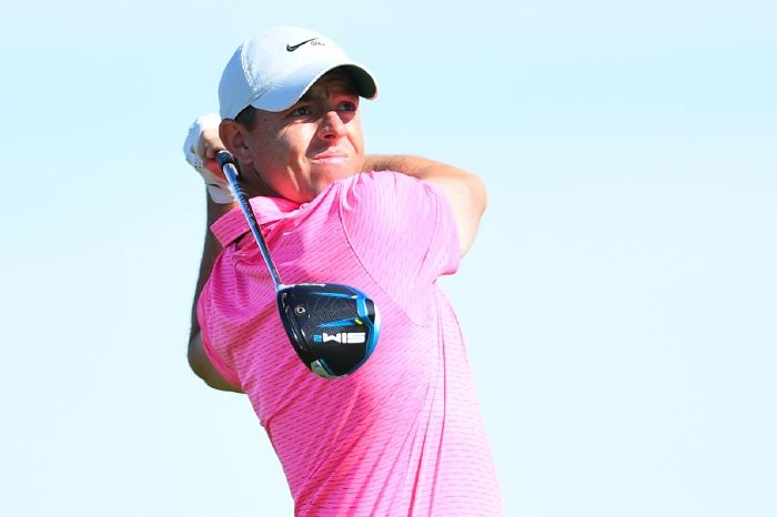 Rory McIlroy at the Farmers Insurance Open