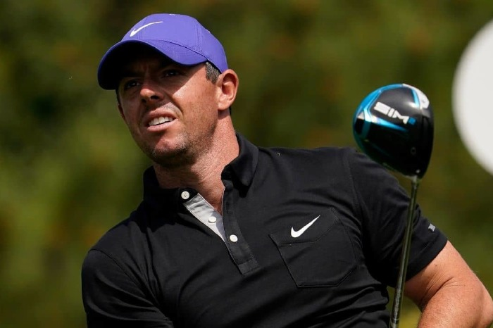 Rory McIlroy on day one