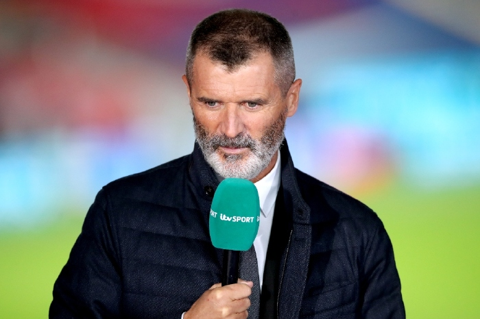Roy Keane working for ITV