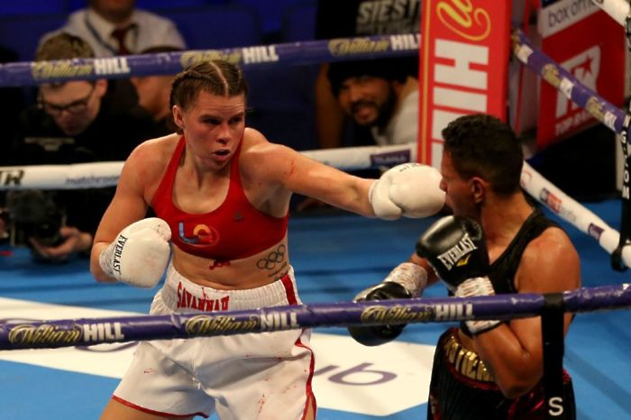 Savannah Marshall is looking to become the third female world champion from England