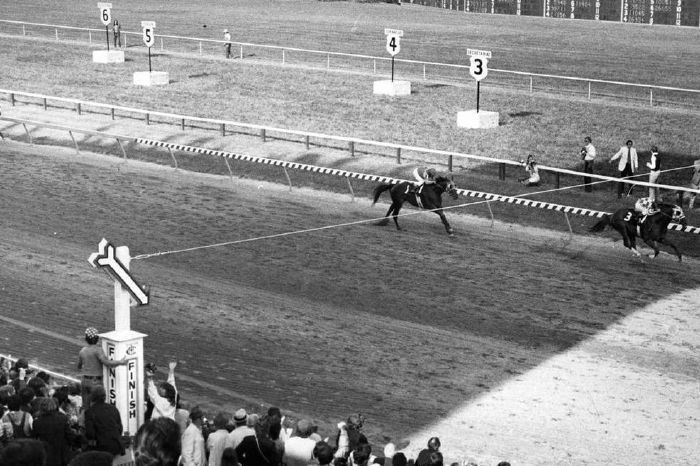 Secretariat completely dominated the Triple Crown Series in 1973