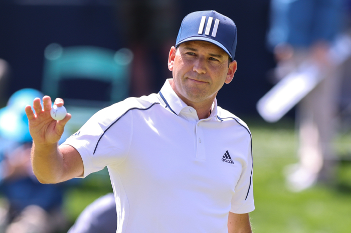 Sergio Garcia opened with a stunning 65