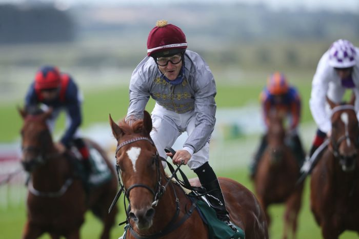 Ebro River earns victory in first race under Shane Foley at Phoenix Stakes