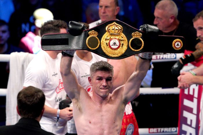 Liam Smith earns Liverpool bragging rights with stoppage over Anthony Fowler