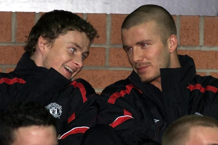 David Beckham is an admirer of his former teammate Ole Gunnar Solskjaer