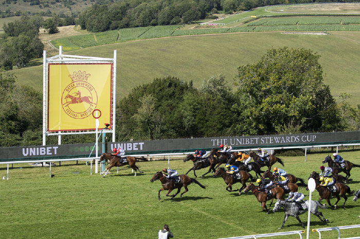 Summerghand wins 2020 Steward's Cup at Goodwood