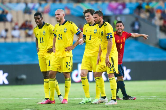 Sweden against Spain