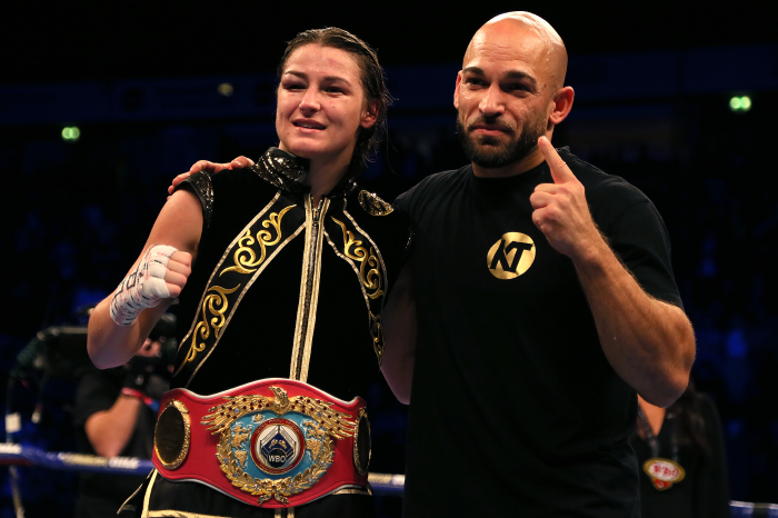 Katie Taylor and Natasha Jonas prove why they should have headlined Manchester