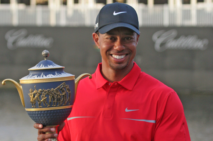 Tiger Woods has been the man in WGC events