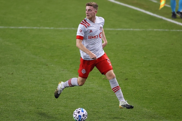 Liverpool left back Tony Gallacher says he benefited from his time at Toronto FC